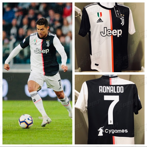 official photos f447e aa549 Adidas Authentic Juventus RONALDO #7 Soccer Jersey NWT